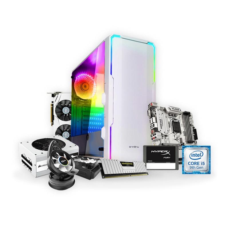 PC Gaming ARTIC i5-9600K 16GB 480GB GTX1060 6GB