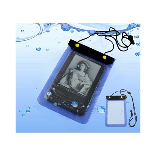 Funda Impermeable para Kindle 3 y similares 196x150mm Azul