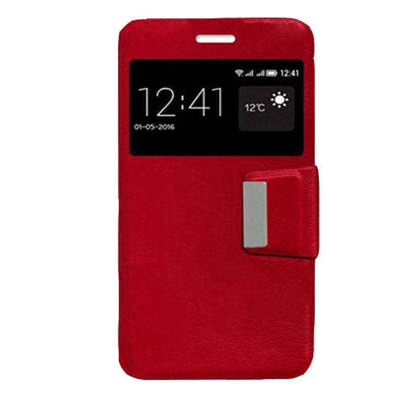 Xiaomi Redmi 5A Funda Flip Cover Rojo