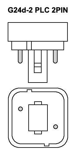 Lampara PLC Bajo Consumo 2PIN 18W 6400K G24d-2