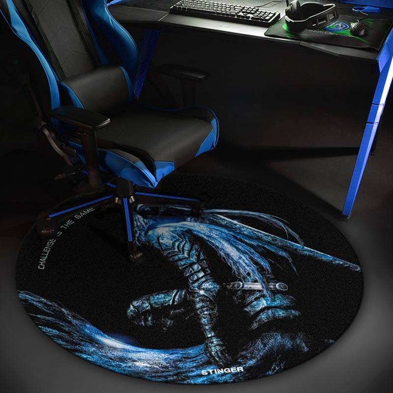 Alfombra de Suelo Gaming Woxter Stinger FloorPad Blue