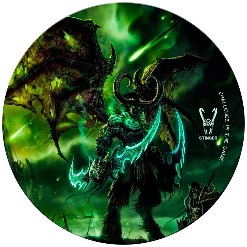 Alfombra de Suelo Gaming Woxter Stinger FloorPad Green