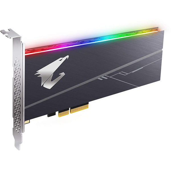 SSD AIC PCIe 3.0x4 NVMe 1TB Aorus RGB