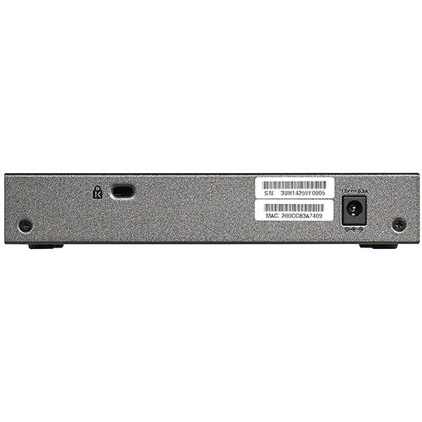 Switch Netgear GS108E-300PES 8p Giga VLAN QoS
