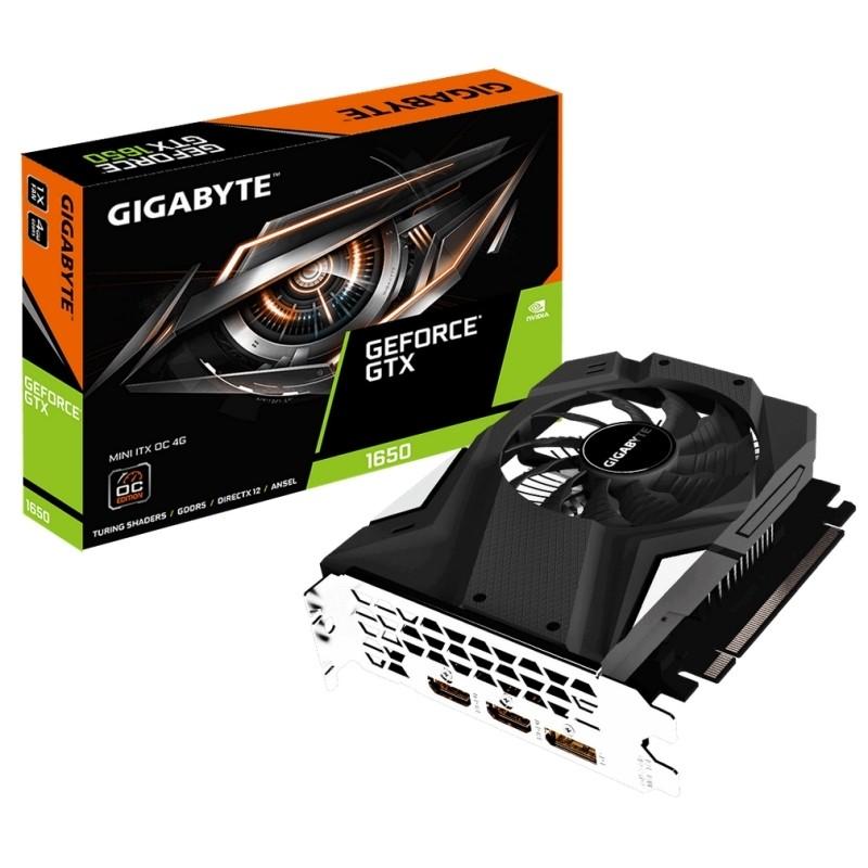 Tarjeta Gráfica Gigabyte GeForce GTX 1650 Mini ITX OC 4GB GDDR5