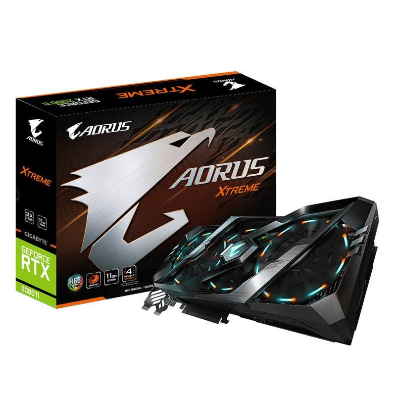 Tarjeta Gráfica Aorus GeForce RTX 2080 Ti XTREME 11GB GDDR6