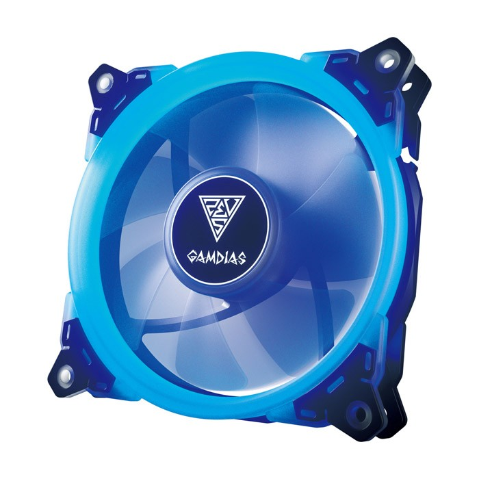 Ventilador PC LED Gamdias Aeolus E1-1201 Azul 120mm