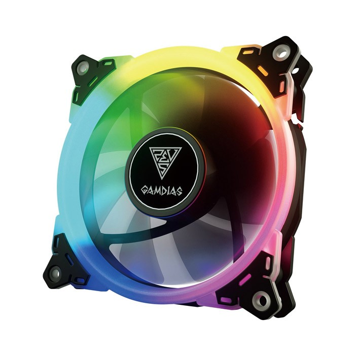 Ventilador PC LED Gamdias Aeolus M1-1201 RGB 120mm