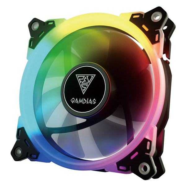 Ventilador PC LED Gamdias Aeolus M1-1401 RGB 140mm