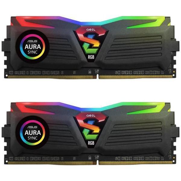 Kit Memoria Geil Super Luce RGB SYNC 16GB DDR4 2400MHz (2x8GB)