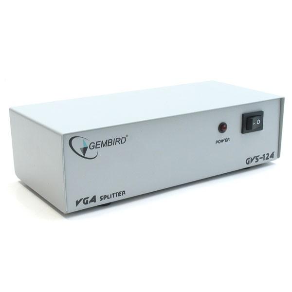 VGA Splitter Gembird GVS124 (4 Monitores)