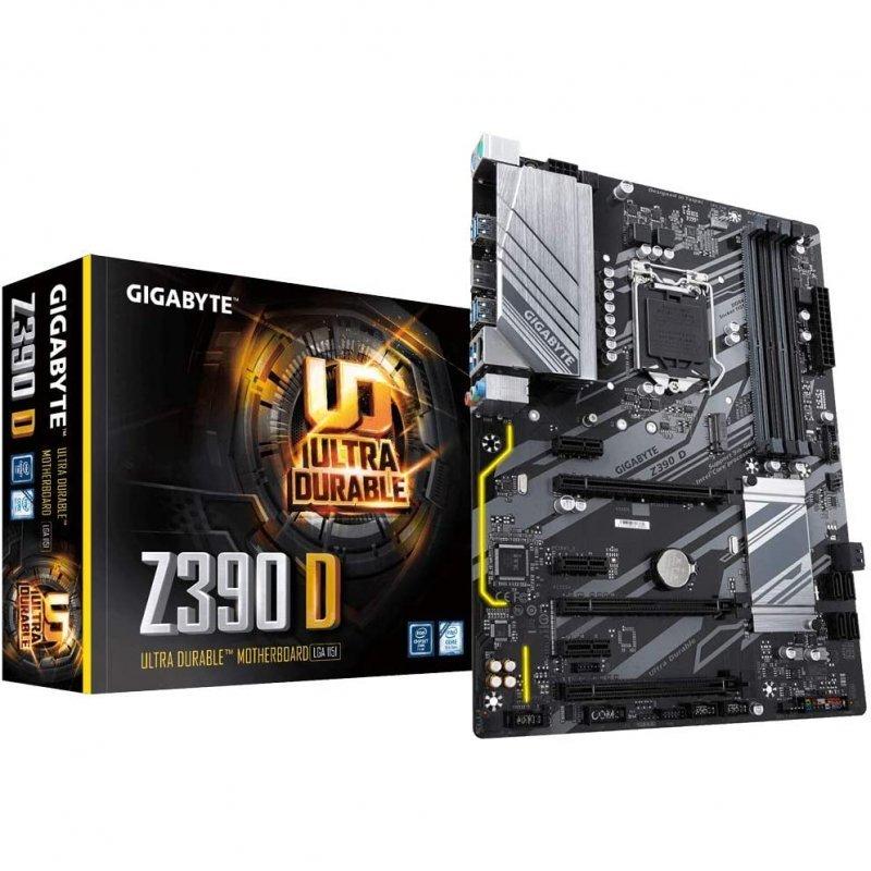 Placa Base Gigabyte Z390 D ATX LGA1151