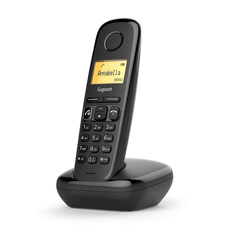 Teléfono Inalámbrico Gigaset A170 Negro