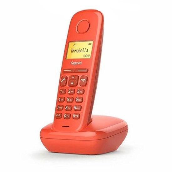 Teléfono Inalámbrico Gigaset A170 Rojo