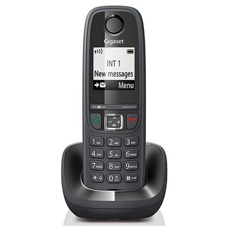 Telefono Inalambrico Siemens Gigaset AS405 Negro