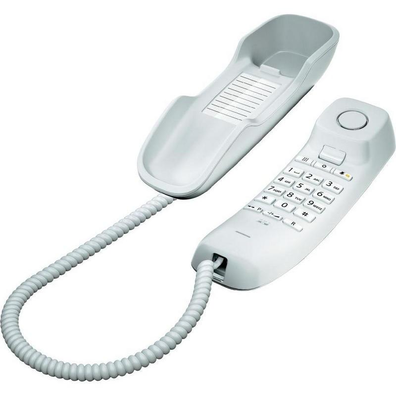 Teléfono Fijo Gigaset DA210 Blanco