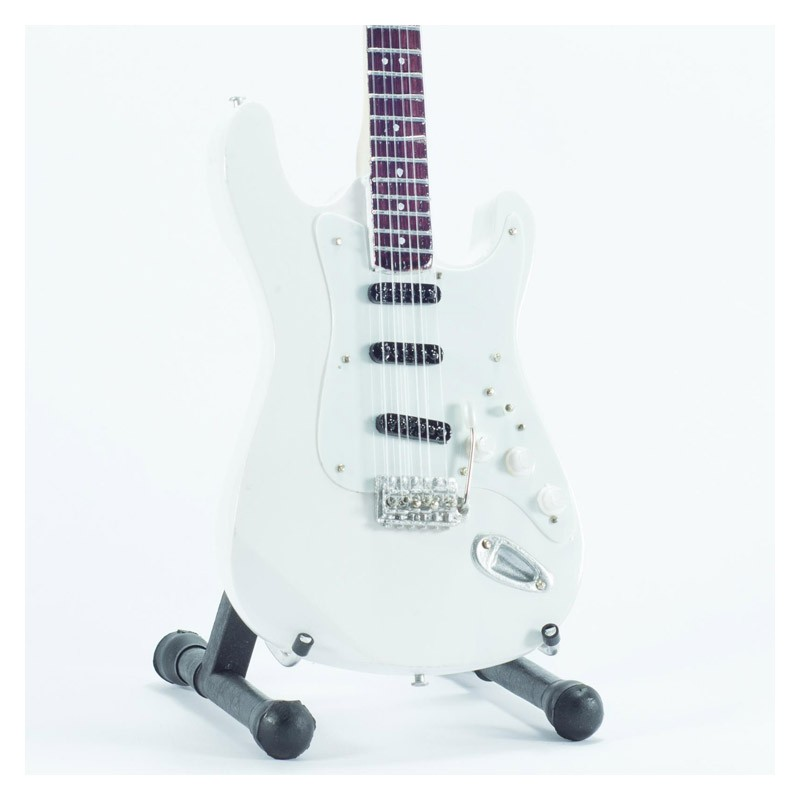 Mini Guitarra De Colección Estilo Deep Purple - Ritchie Blackmore