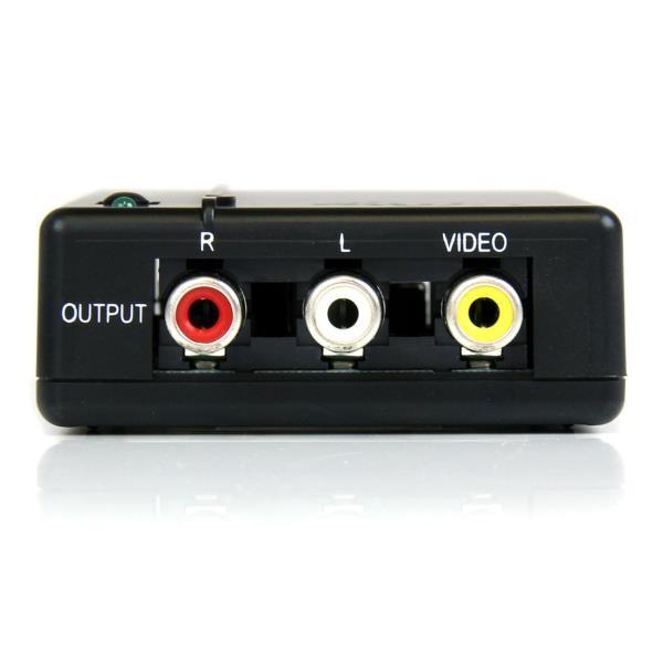 Conversor HDMI a  Video Compuesto c/ Audio