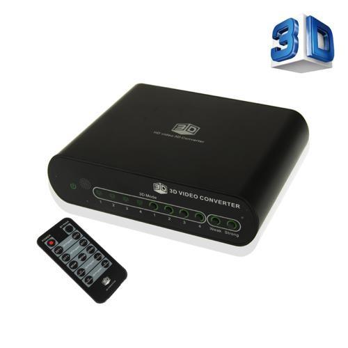 Convertidor 2D a 3D Full HD para Pantallas 2D (Anaglifo)