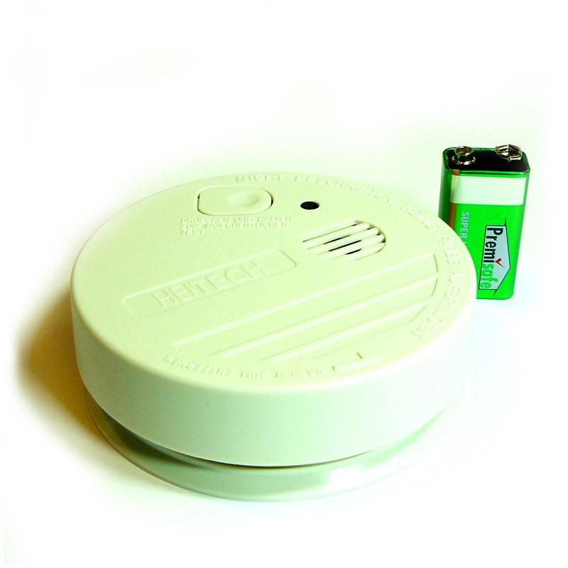 Detector de Incendios Fotoeléctrico con Alarma