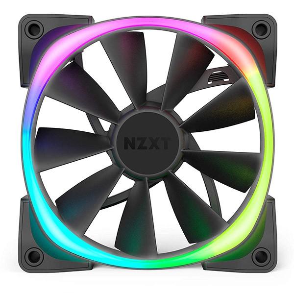 Ventilador PC NZXT Aer RGB 2 Starter Kit 140mm (2 Unidades) + Controlador HUE