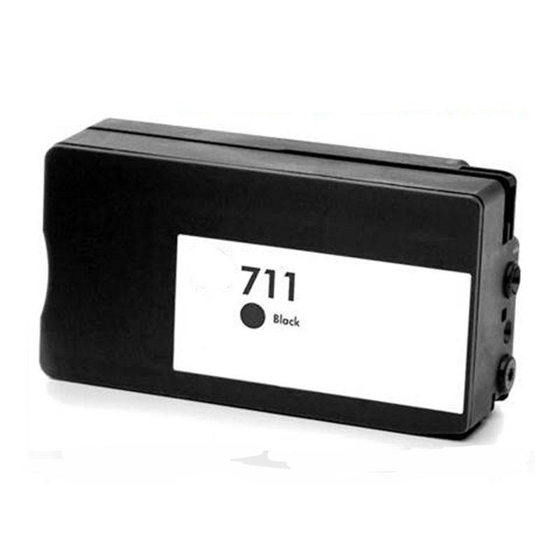 Hp711bk (negro) cartucho de tinta compatible