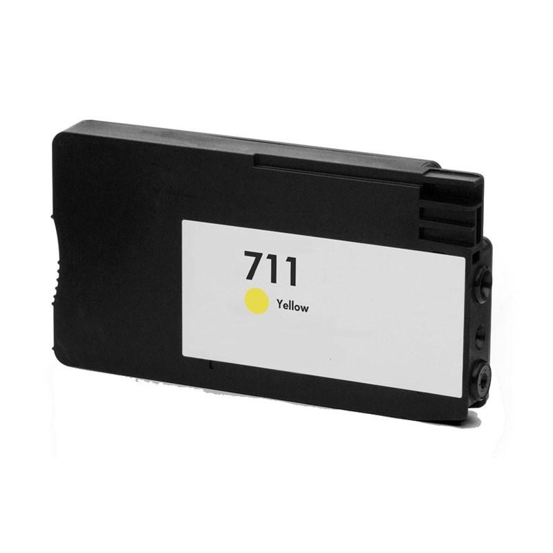Hp711y (amarillo) cartucho de tinta compatible