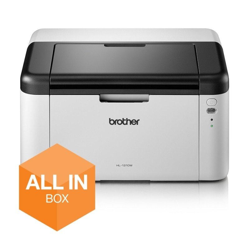 Impresora láser monocromo brother hl-1210w all in box