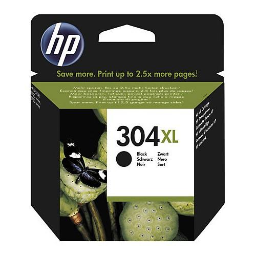 HP 304BK XL Cartucho de Tinta Original Negro