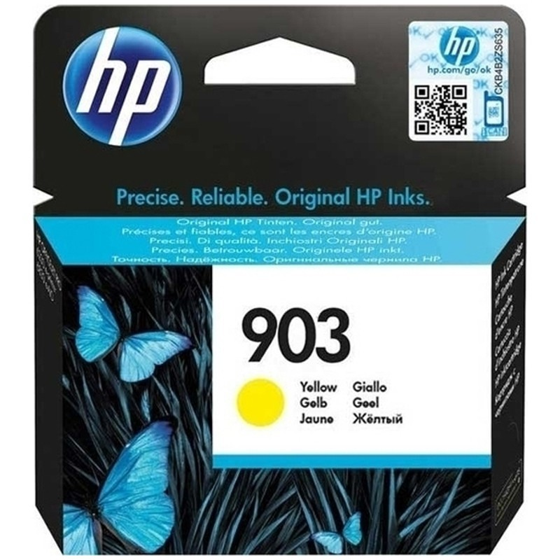 HP 903Y Cartucho de Tinta Original Amarillo