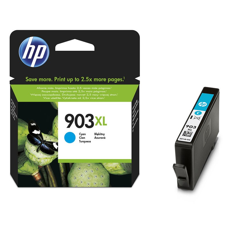 HP 903C XL Cartucho de Tinta Original Cián