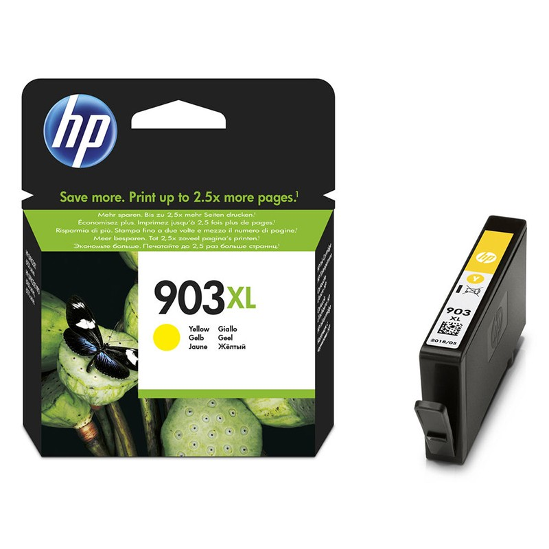 HP 903Y XL Cartucho de Tinta Original Amarillo