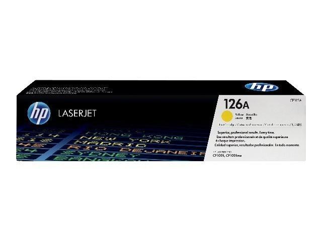 HP 126A (CE312A) Toner Original Amarillo