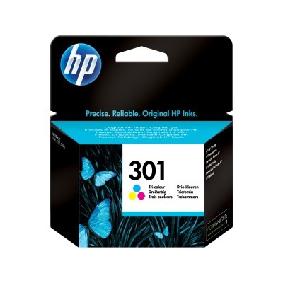 HP 301C Cartucho de Tinta Original Tricolor