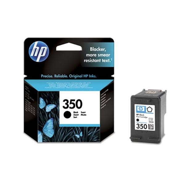 HP 350BK Cartucho de Tinta Original Negro