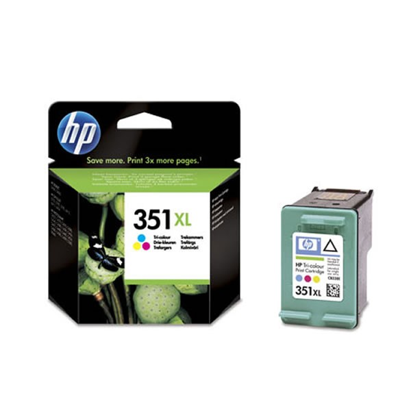 HP 351C XL Cartucho de Tinta Original Tricolor