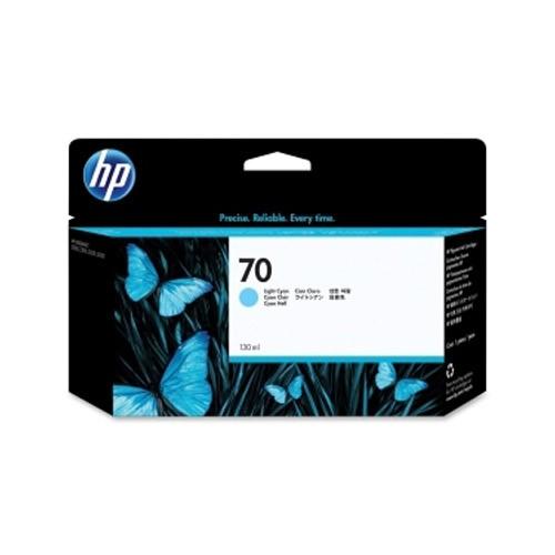 HP 70 Cartucho de Tinta Original Cian Claro