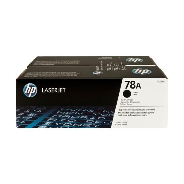 HP 78A (CE278AD) Toner Original Pack 2 Negro