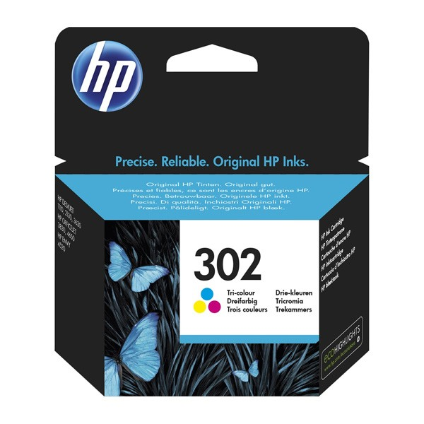 HP 302C Cartucho de Tinta Original Tricolor
