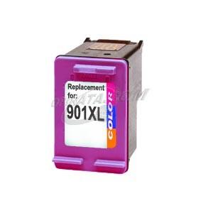 Hp901xlc (color) cartucho de tinta compatible