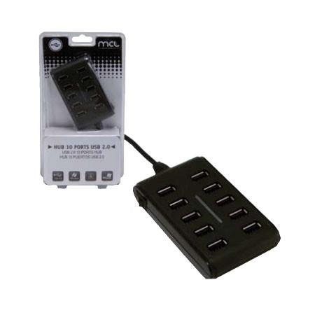 HUB 10 Puertos USB 2.0 MCL USB2-H111