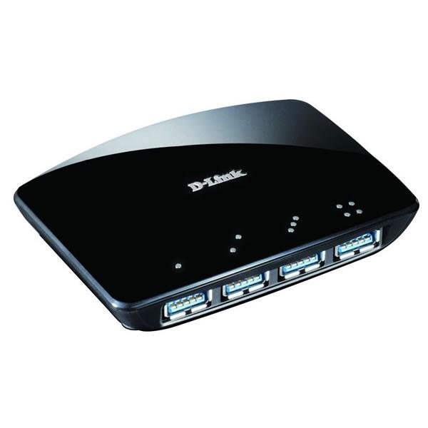 HUB 4 Puertos USB 3.0 D-Link DUB 1340