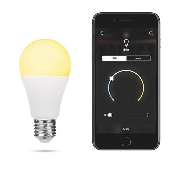 Bombilla Inteligente A65  E27 7W Smartwares HW1601