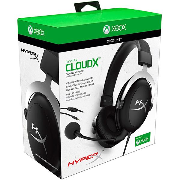 Auriculares con Micrófono Kingston Hyperx CloudX Xbox