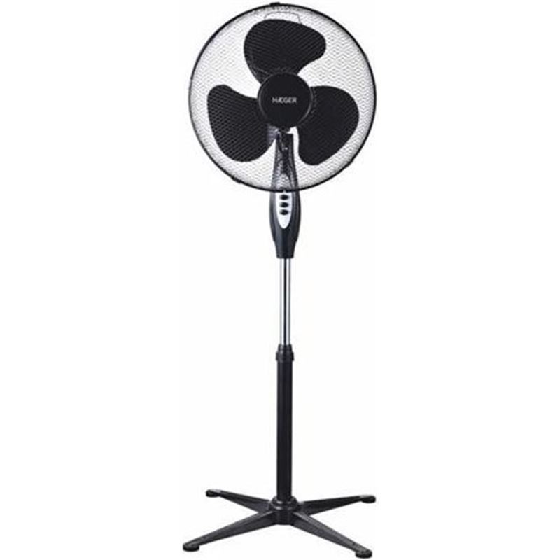 Ventilador de Pie Haeger Cross Wind Negro