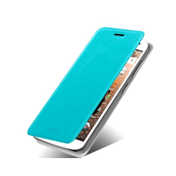 huawei-ascend-g7-funda-tipo-libro-azul-turquesa