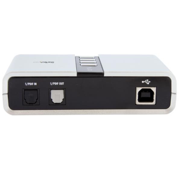 Tarjeta de Sonido Externo del USB 7.1 con Audio Digital SPDIF