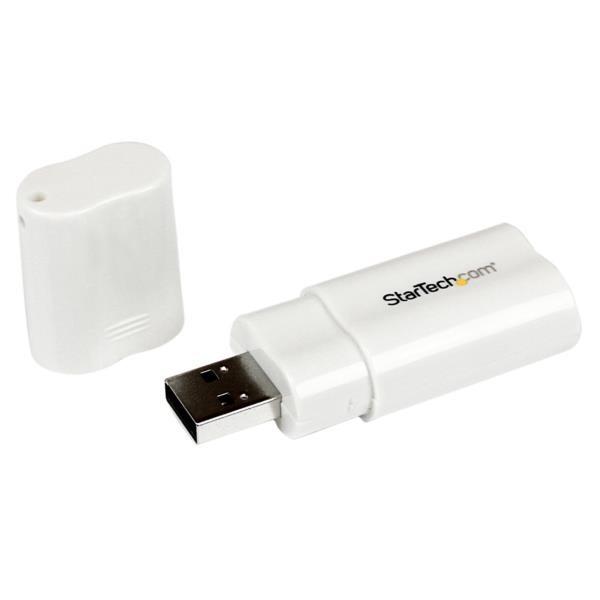 Adaptador USB a Audio Estéreo