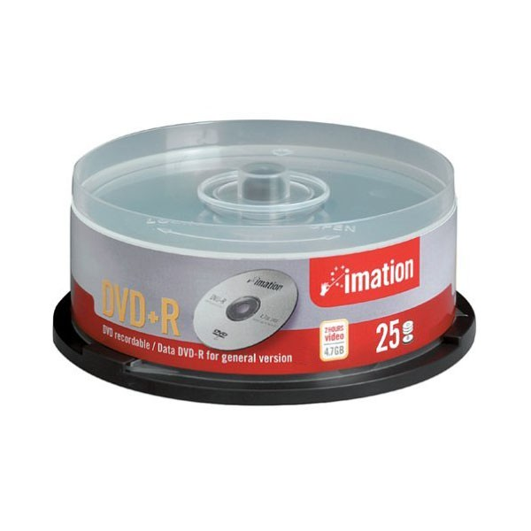 DVD+R 16x Imation Tarrina 25 uds