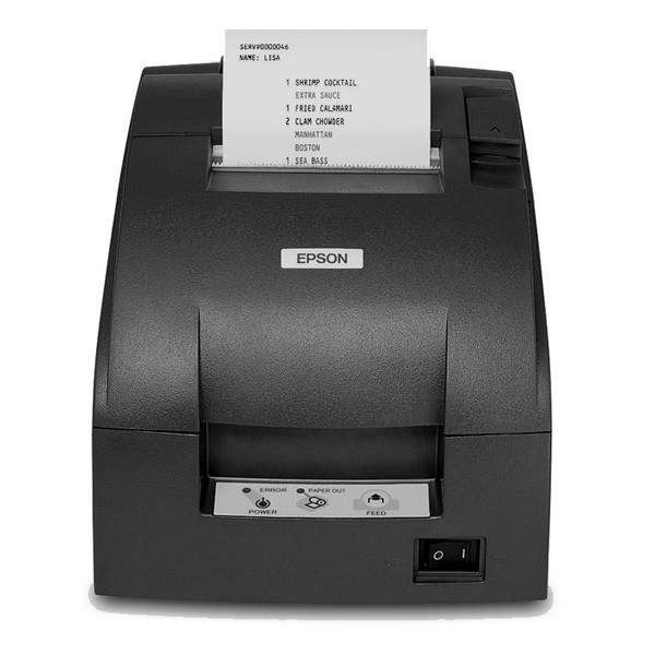 Impresora de Ticket Epson TM-U220D Serie Negro
